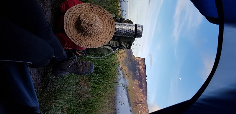 trekking em Roraima mochila cargueira