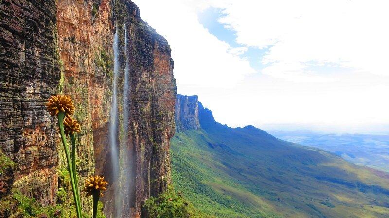 trekking do monte roraima leve na viagem