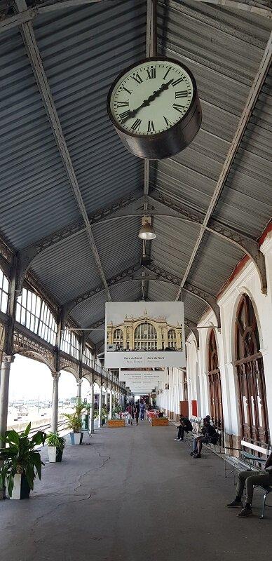 capital de moçambique estação de trem