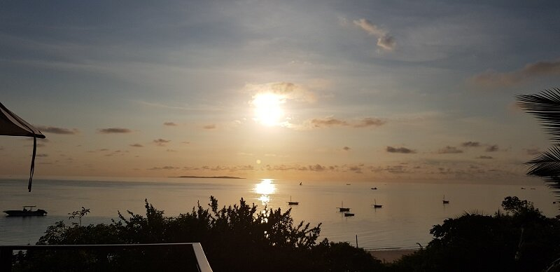 Moçambique bahia mar