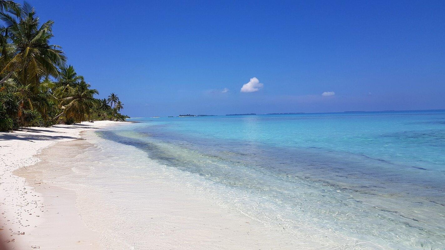 dhigurah maldivas praia