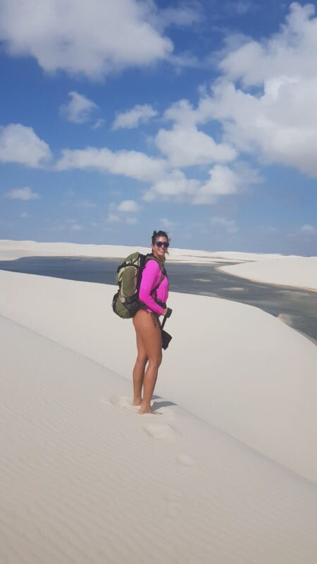 mochila para trekking lencois maranhenses