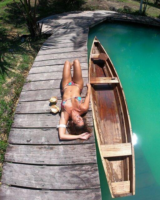 gopro canoa lagoa azul
