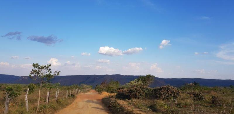 estrada de terra alto paraíso