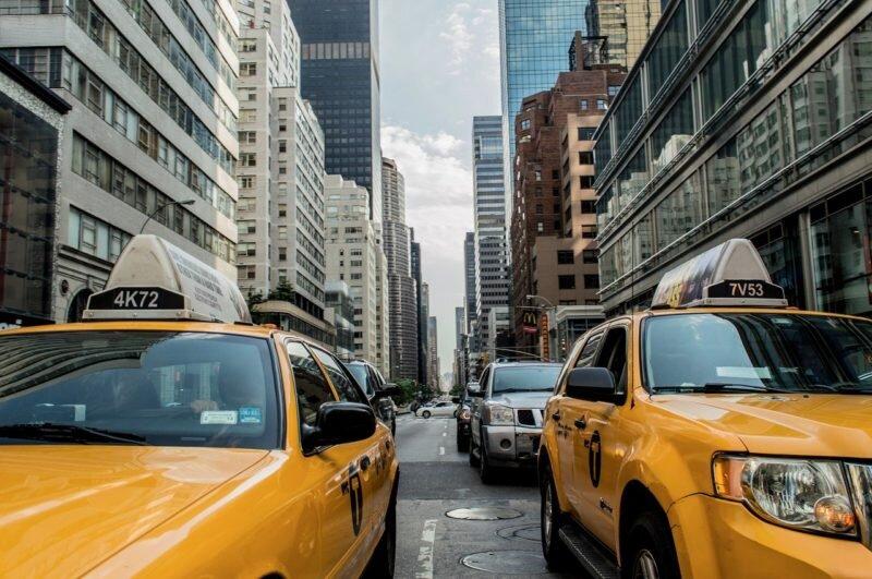 taxi em nova york
