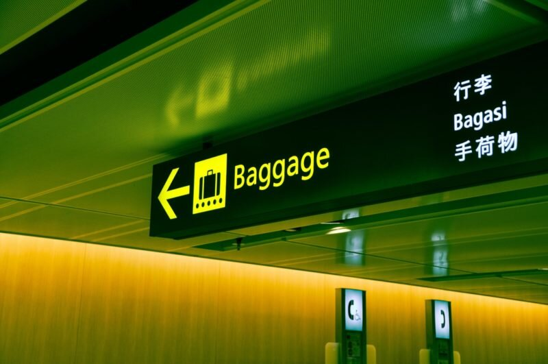 bagagem perdida