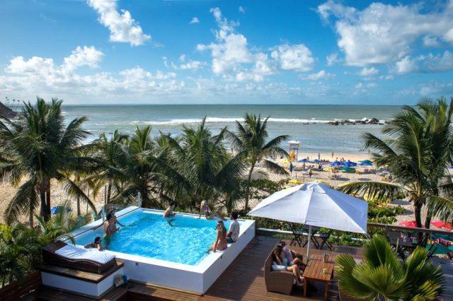 onde ficar em morro de são paulo hotel de frente a praia com coqueiros